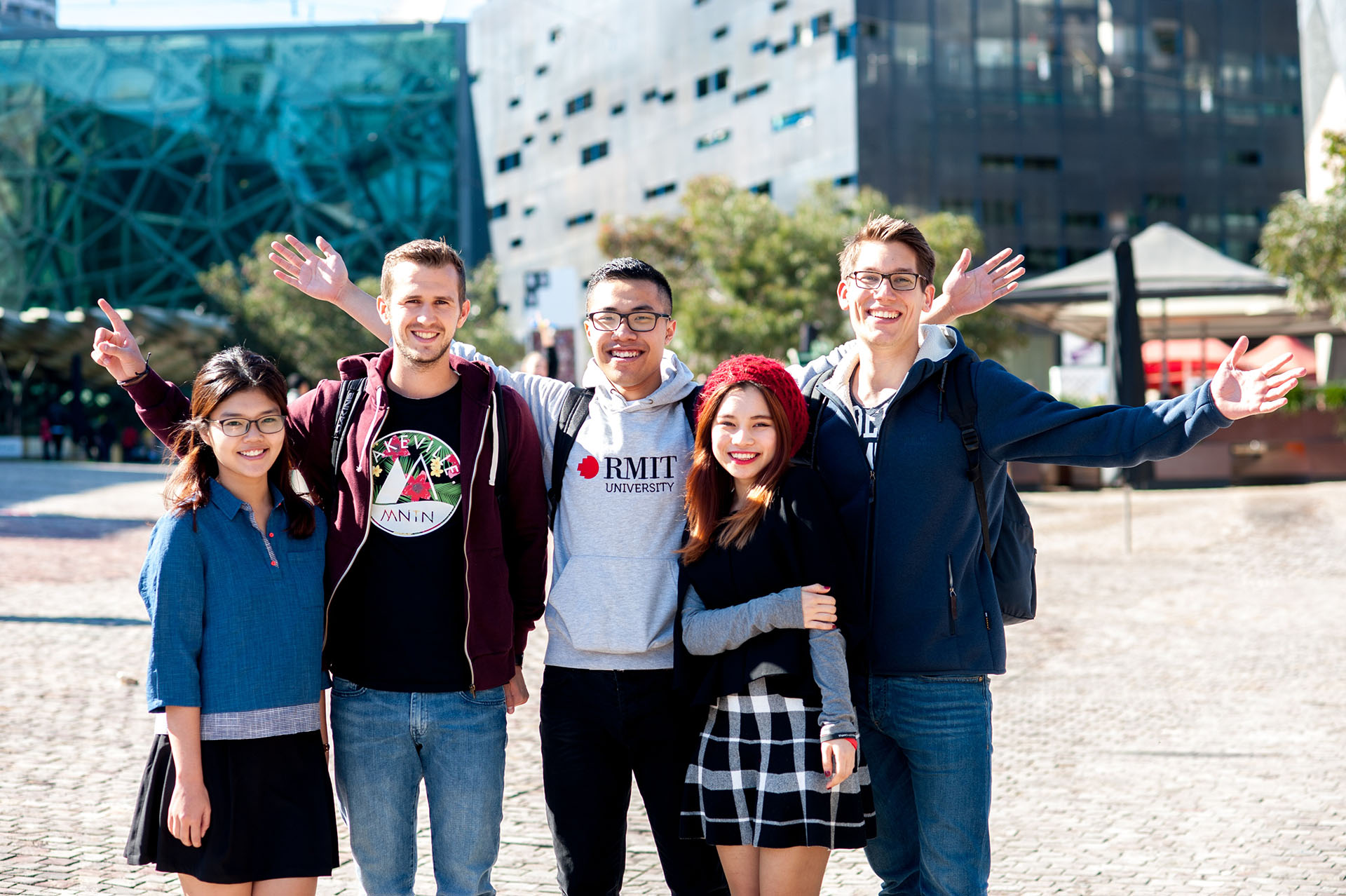 rmit vn global mobility students in melbourne