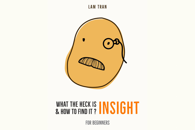 Written by RMIT University alumni Tran Thanh Lam, 'What the heck is INSIGHT & how to find it' provides practical frameworks, principles and methods on insight to beginners and practitioners.