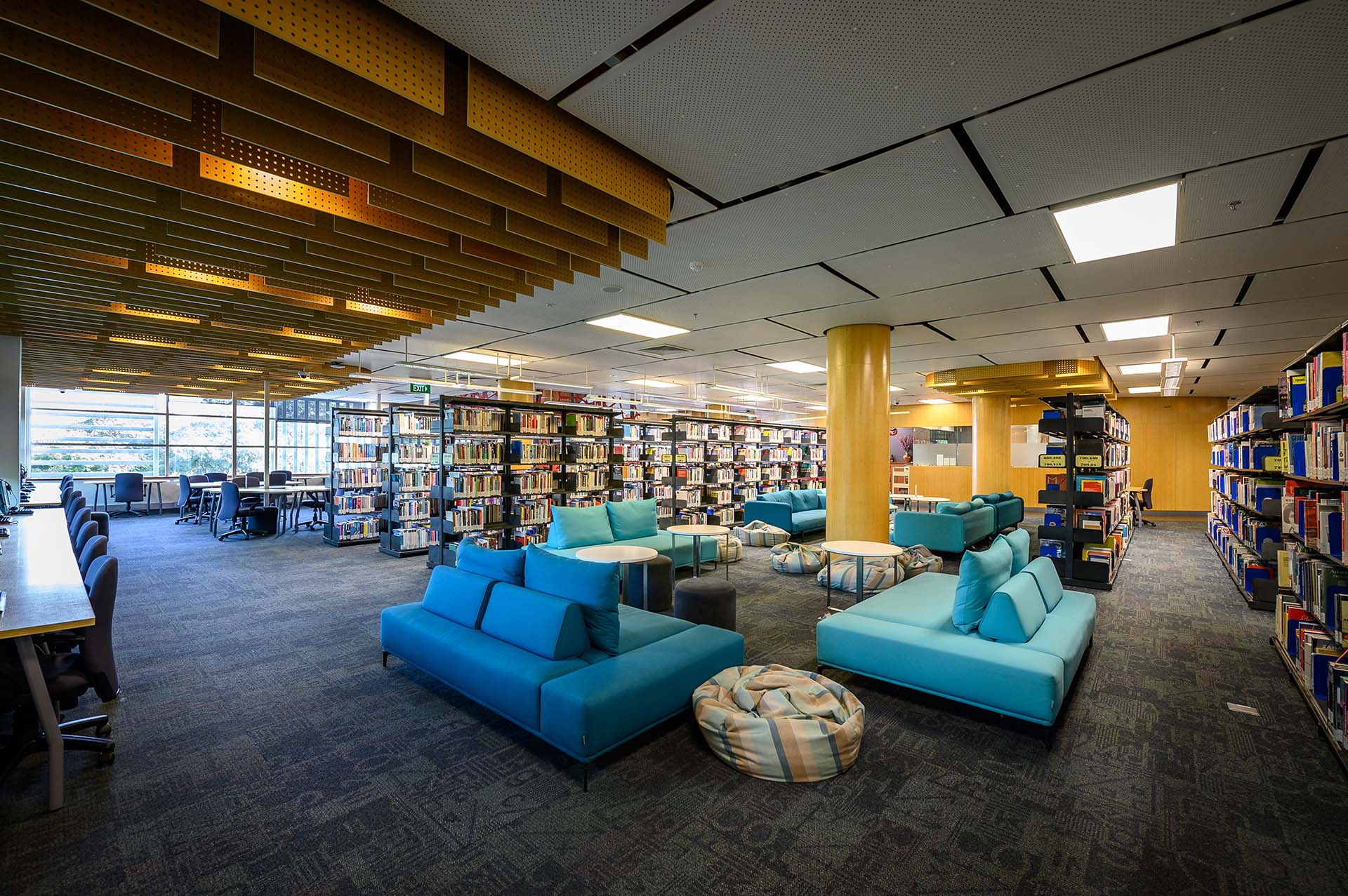 sgs beanland library