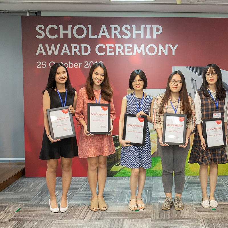 2018 Scholarship winners